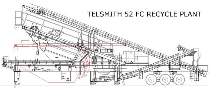 2001 telsmith 52h fc closed circuit cone plant  u2013 j w